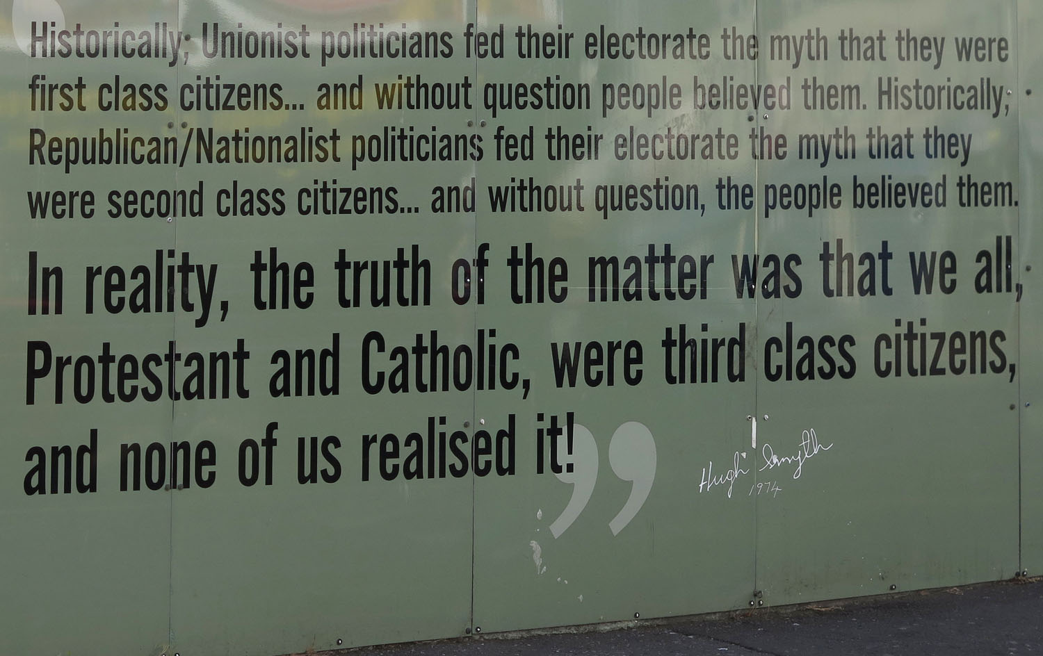 Northern-Ireland-Belfast-The-Troubles-Hugh-Smyth-Quote-1974