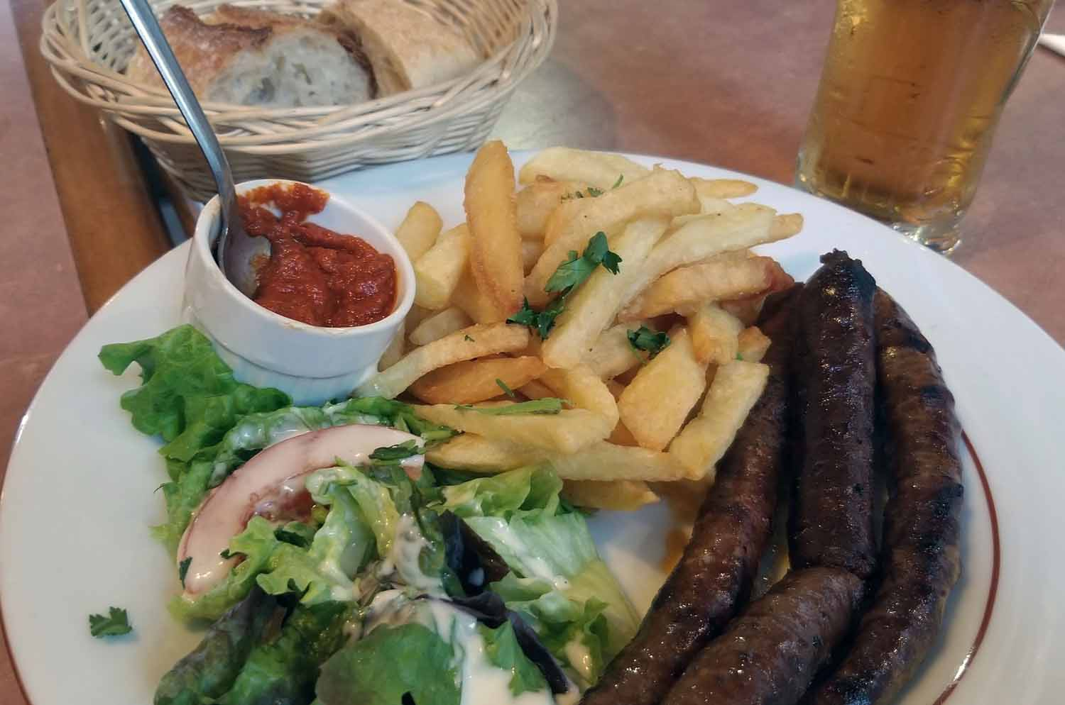 France-Paris-Food-And-Drink-Sausage