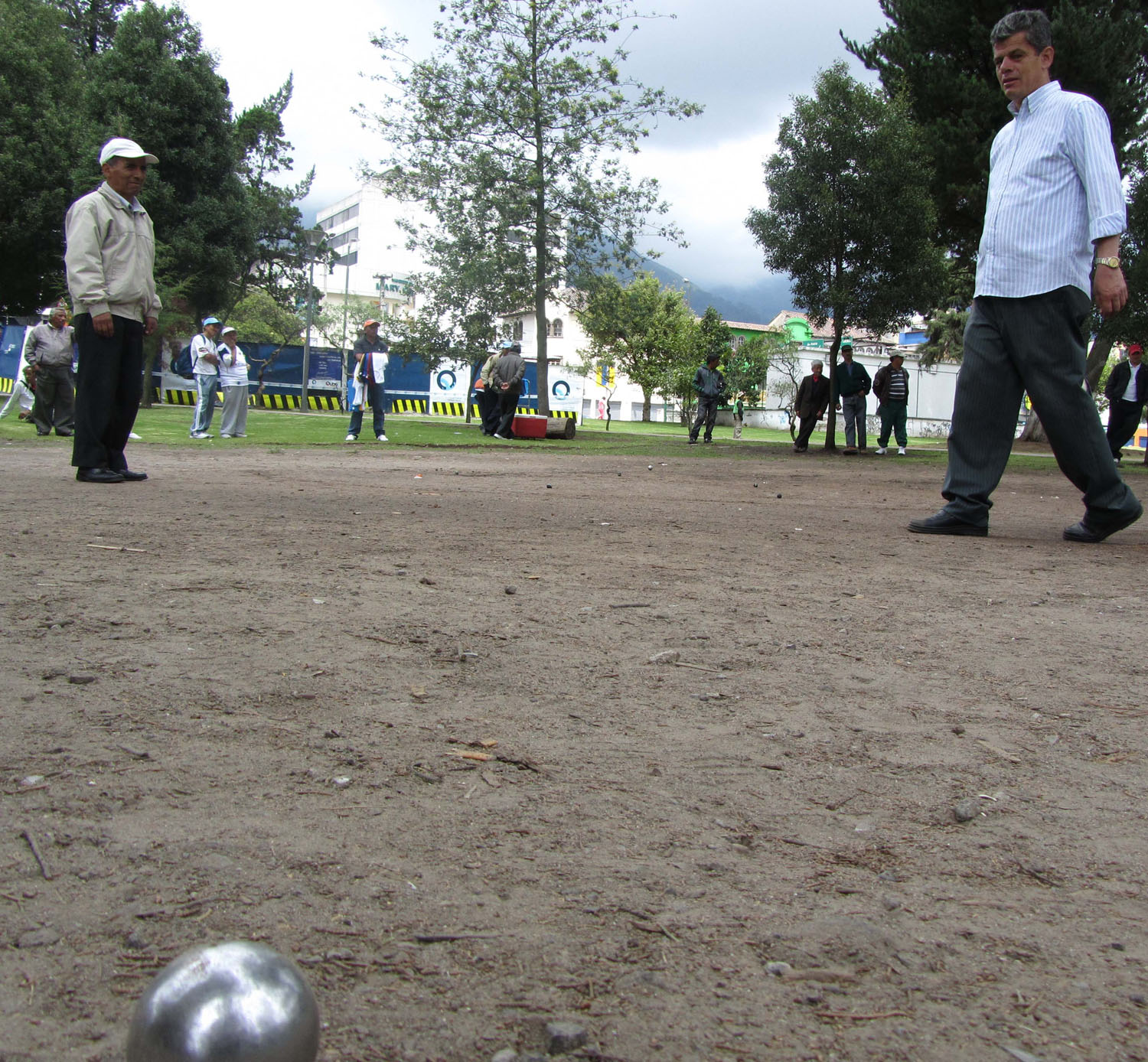 Ecuador-Quito-Park-Ball-Game