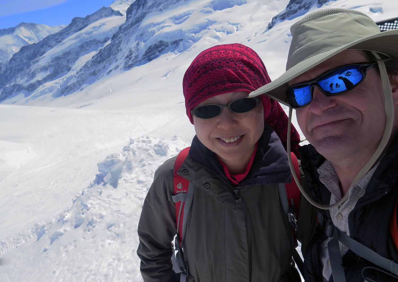 Switzerland-Bernese-Oberland-Jungfraujoch-Karen-Frank