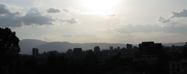 Ethiopia-Addis-Ababa-Skyline-Sunset