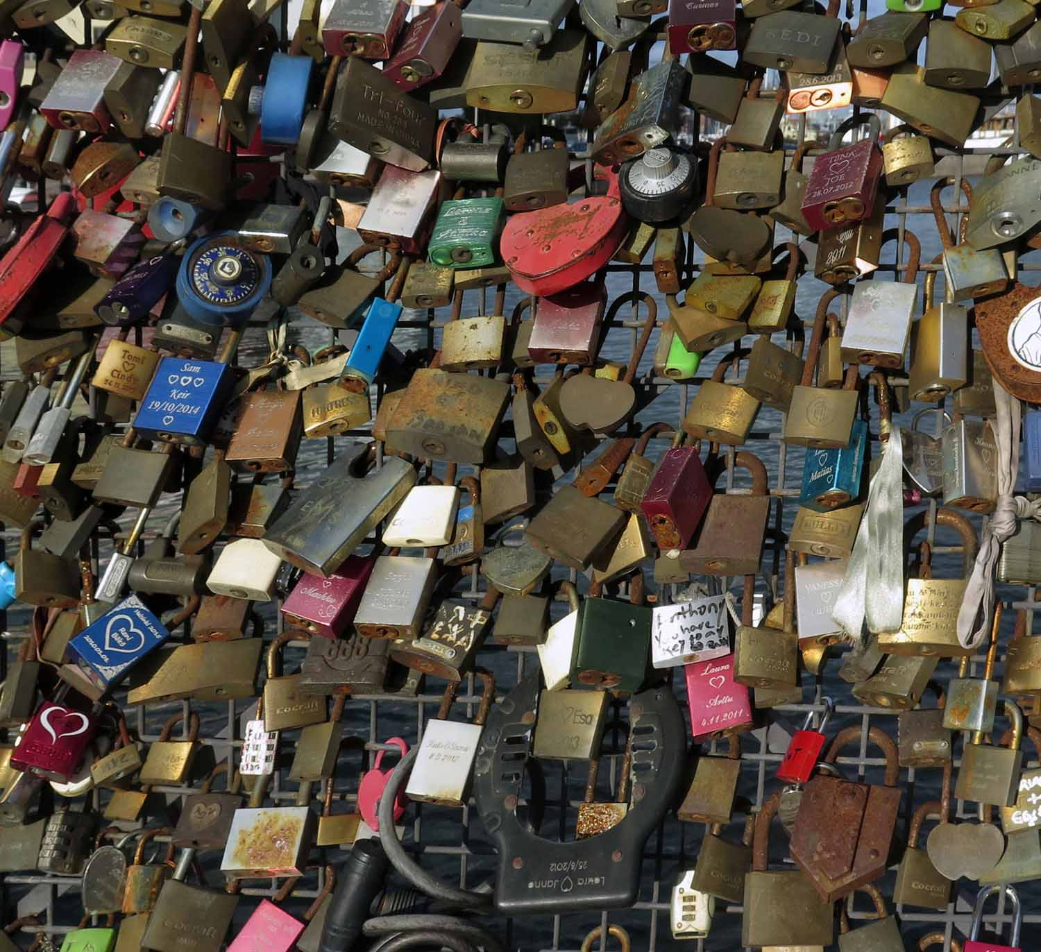 Finland-Helsinki-Locks-Of-Love