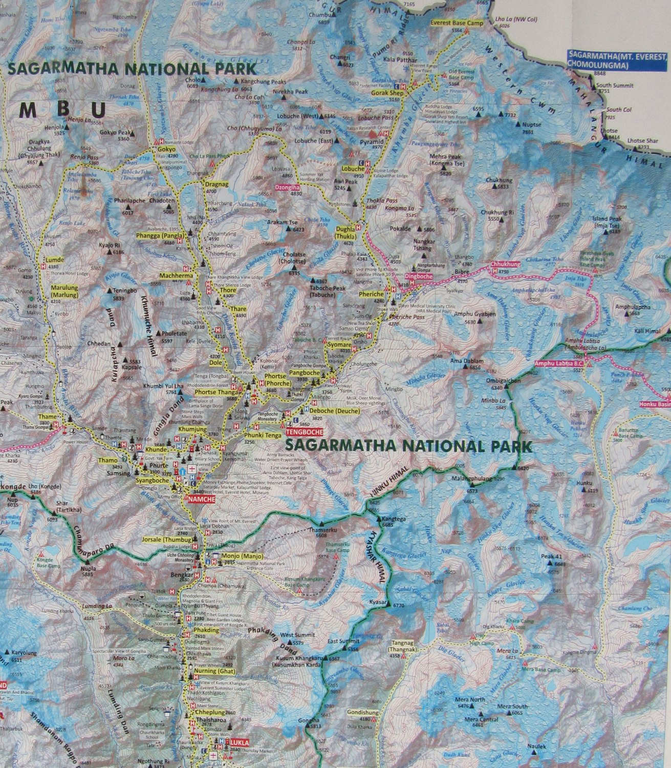 Nepal-Everest-Region-Trek-Day-01-Khumbu-Region-Map