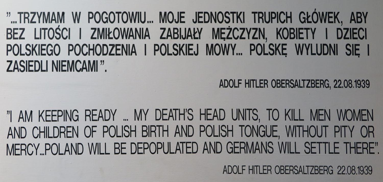 Poland-Auschwitz-Evil-Quote-Hitler
