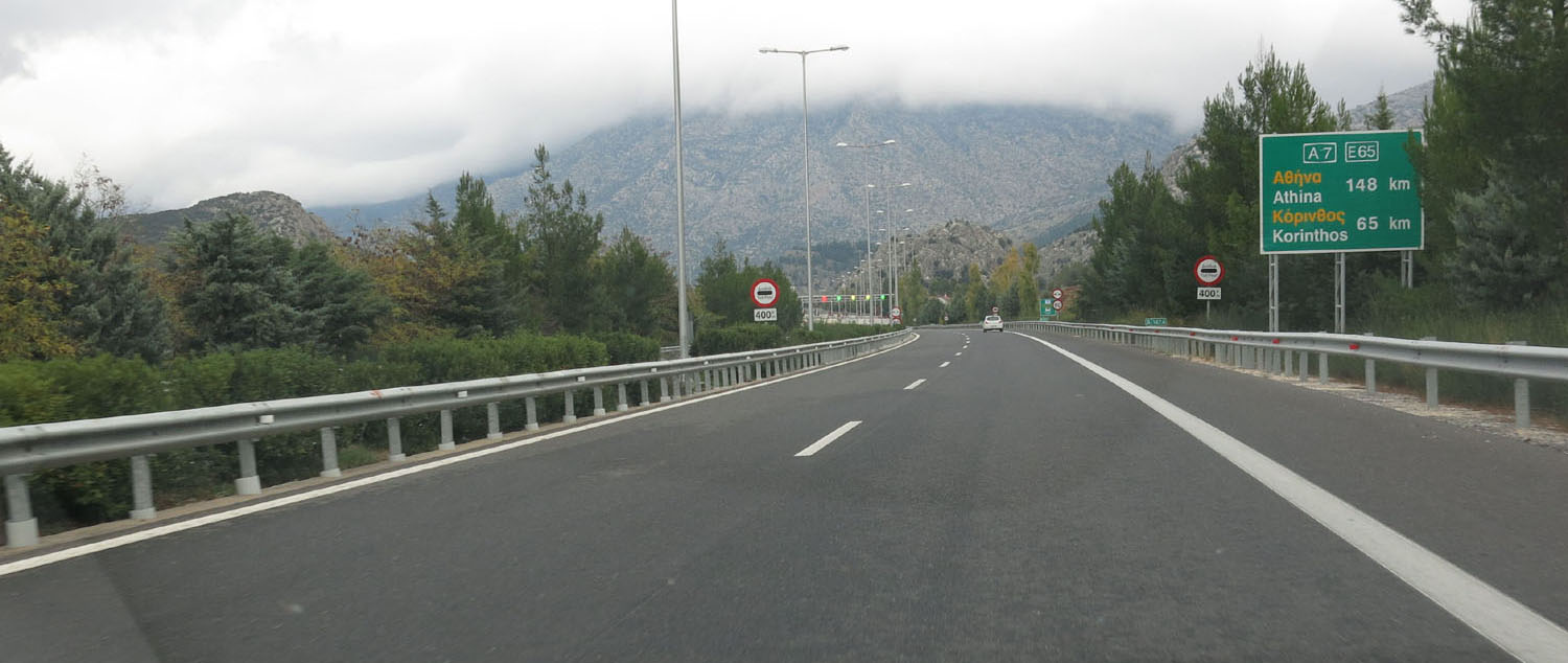 Greece-On-The-Road-Highway