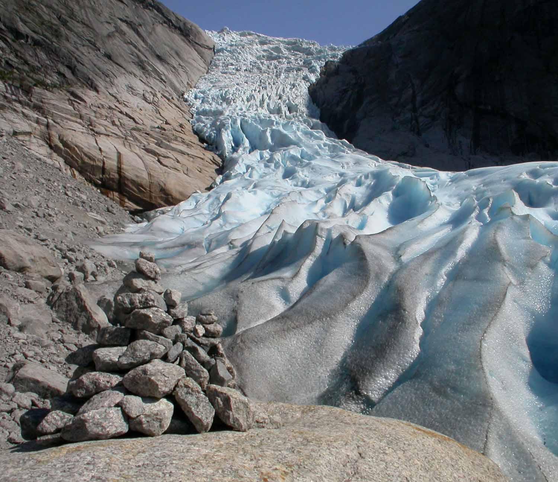 Norway-Briksdal-Glacier