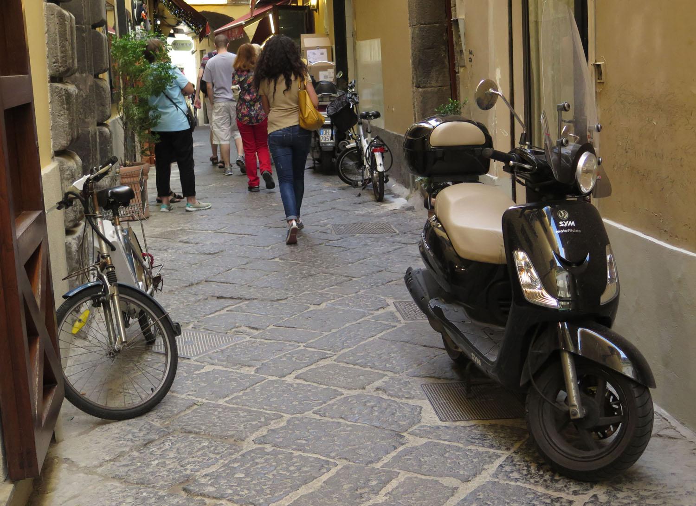 Italy-Sorrento-Vespa