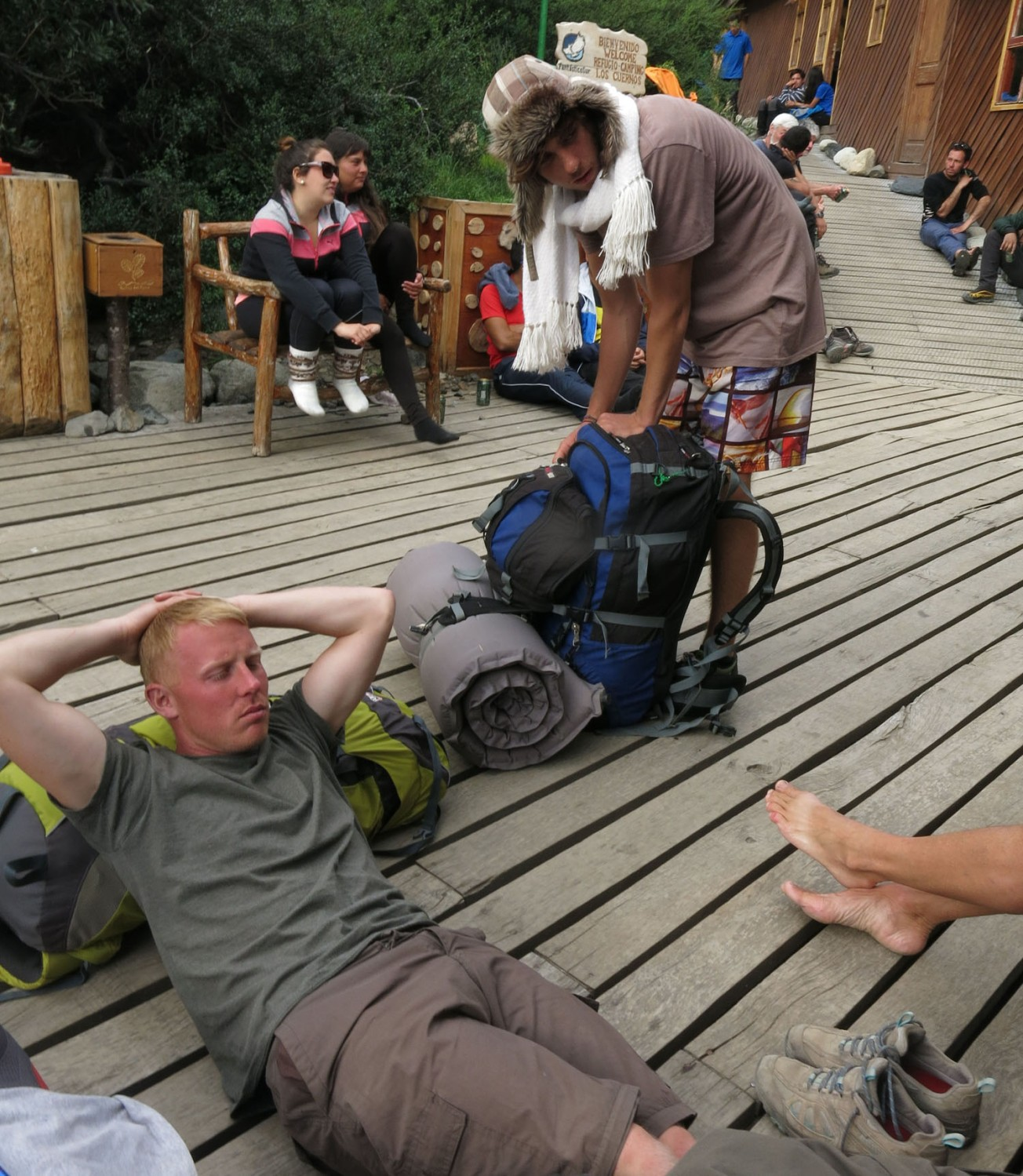 Patagonia-Paine-W-Trek-Day2-Lodge-Style