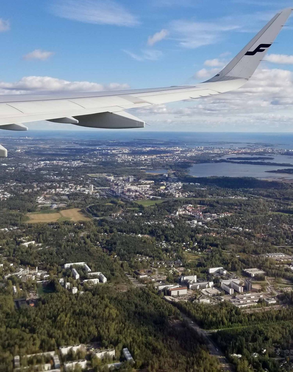 Finland-Helsinki-Aerial-View