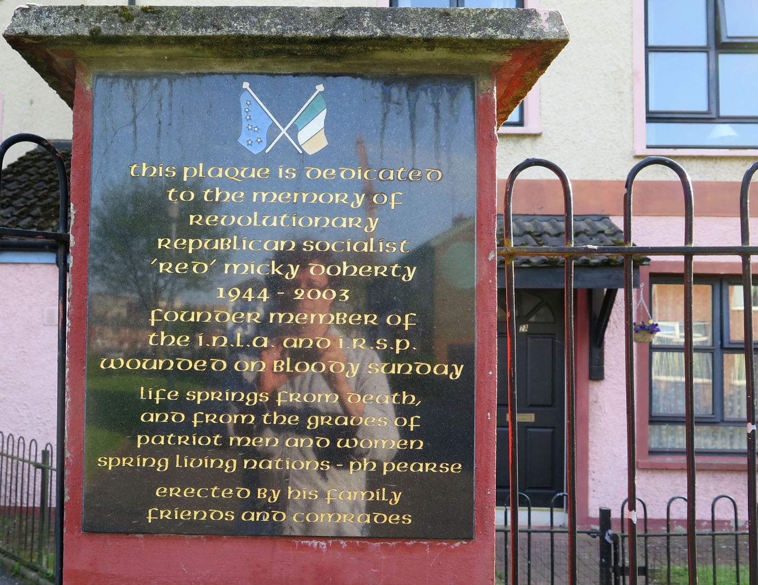 Northern-Ireland-Derry-Londonderry-Micky-Doherty-Memorial