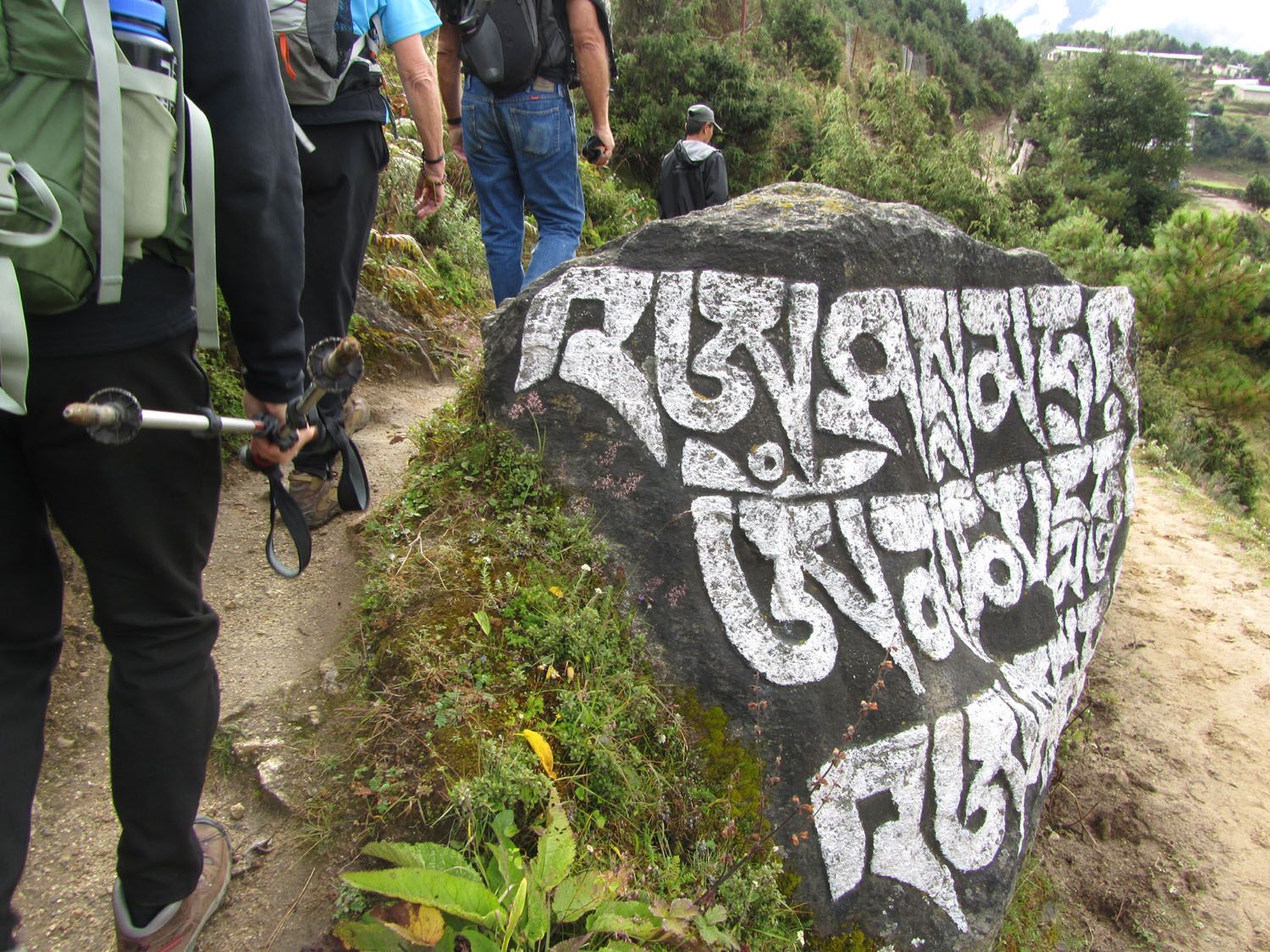 Nepal-Everest-Region-Trek-Day-04-Mani-Boulder-Clockwise