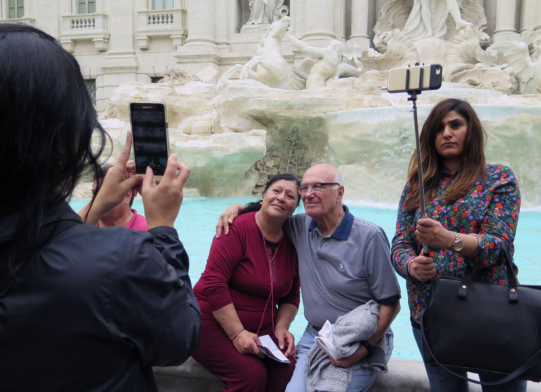 Italy-Rome-Trevi-Fountain
