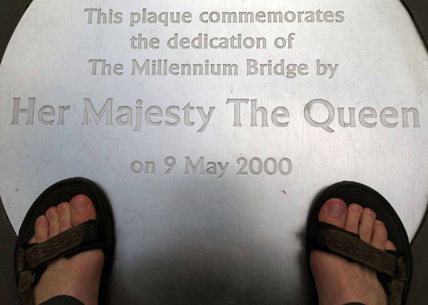 England-London-Millennium-Bridge-Dedication