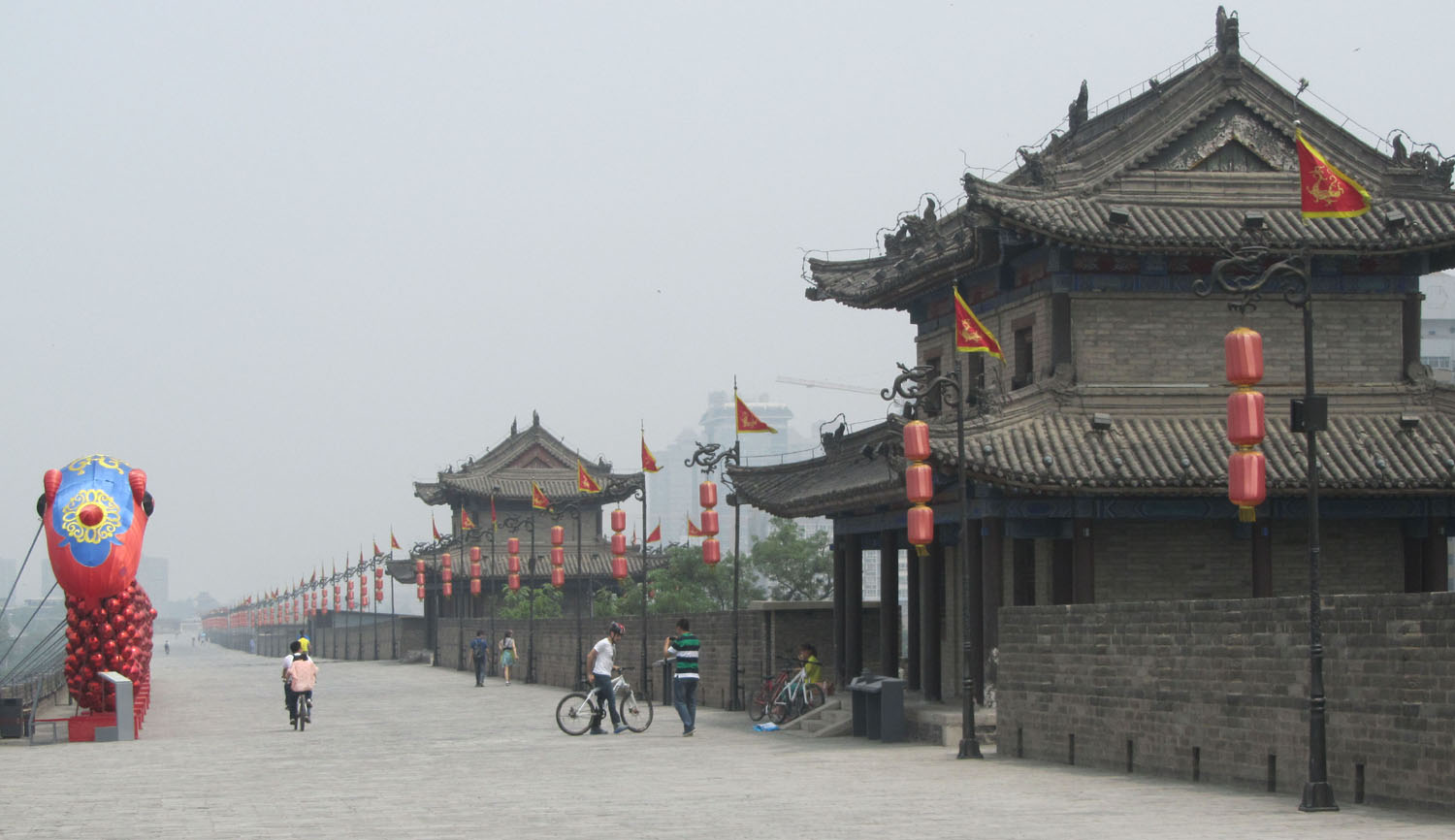 China-Xian-City-Wall