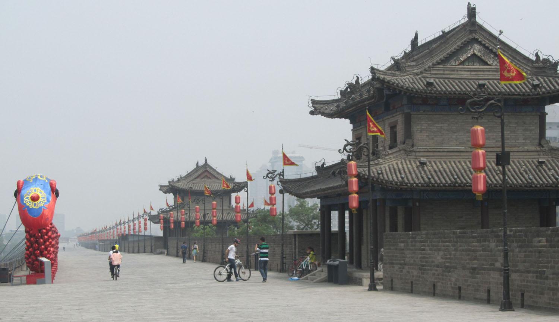 China-Xian-City-Wall