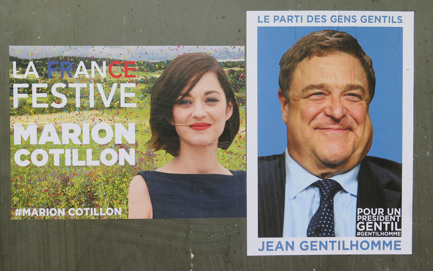 France-Paris-Street-Scenes-Election-Posters