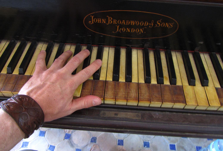Morocco-Tangier-Hotel-Continental-Piano