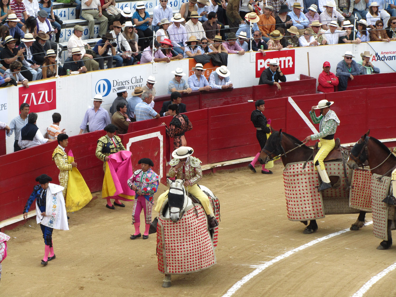 Ecuador-Quito-Bullfight-Warmup
