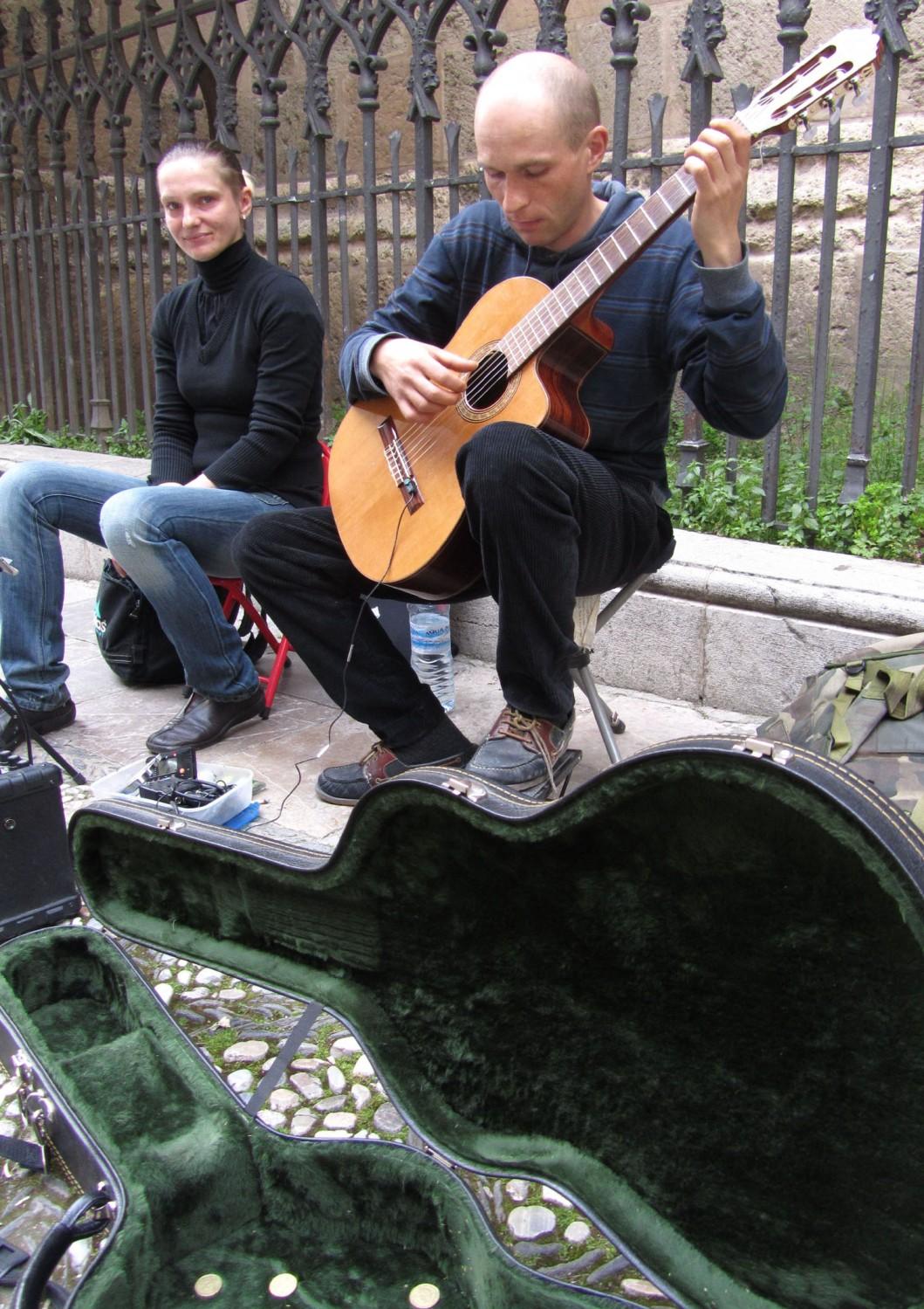 Spain-Granada-Musicians