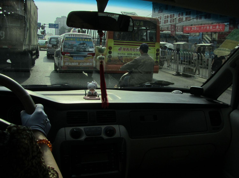 China-Xian-Taxi