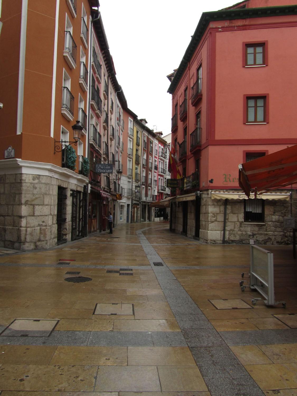 Camino-De-Santiago-Sights-And-Scenery-Burgos-Street