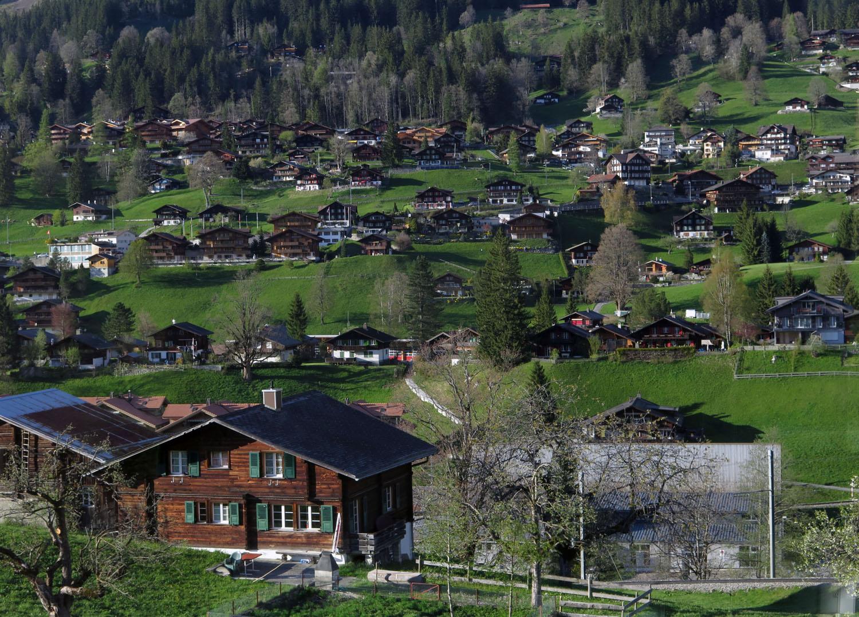 Switzerland-Bernese-Oberland-Grindelwald
