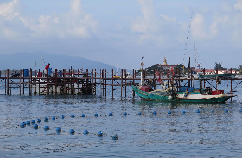 Thailand-Ko-Samui-Fishing-Boats