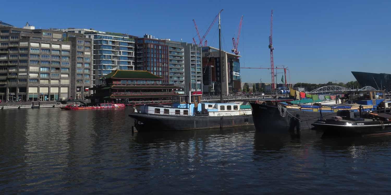 Netherlands-Amsterdam-Ij-River