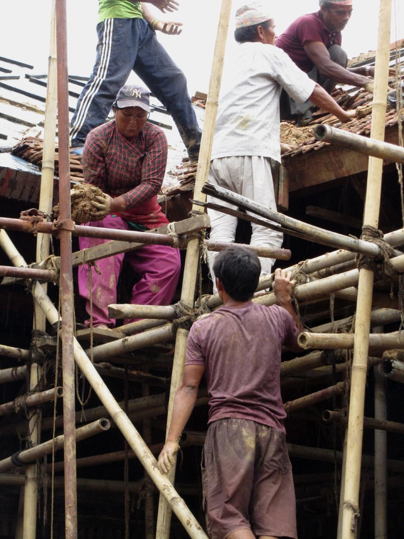 Nepal-Patan-Scaffolding
