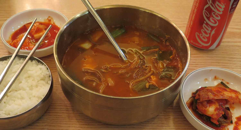 Korea-Seoul-Food-And-Drink-Soup-And-Kimchi