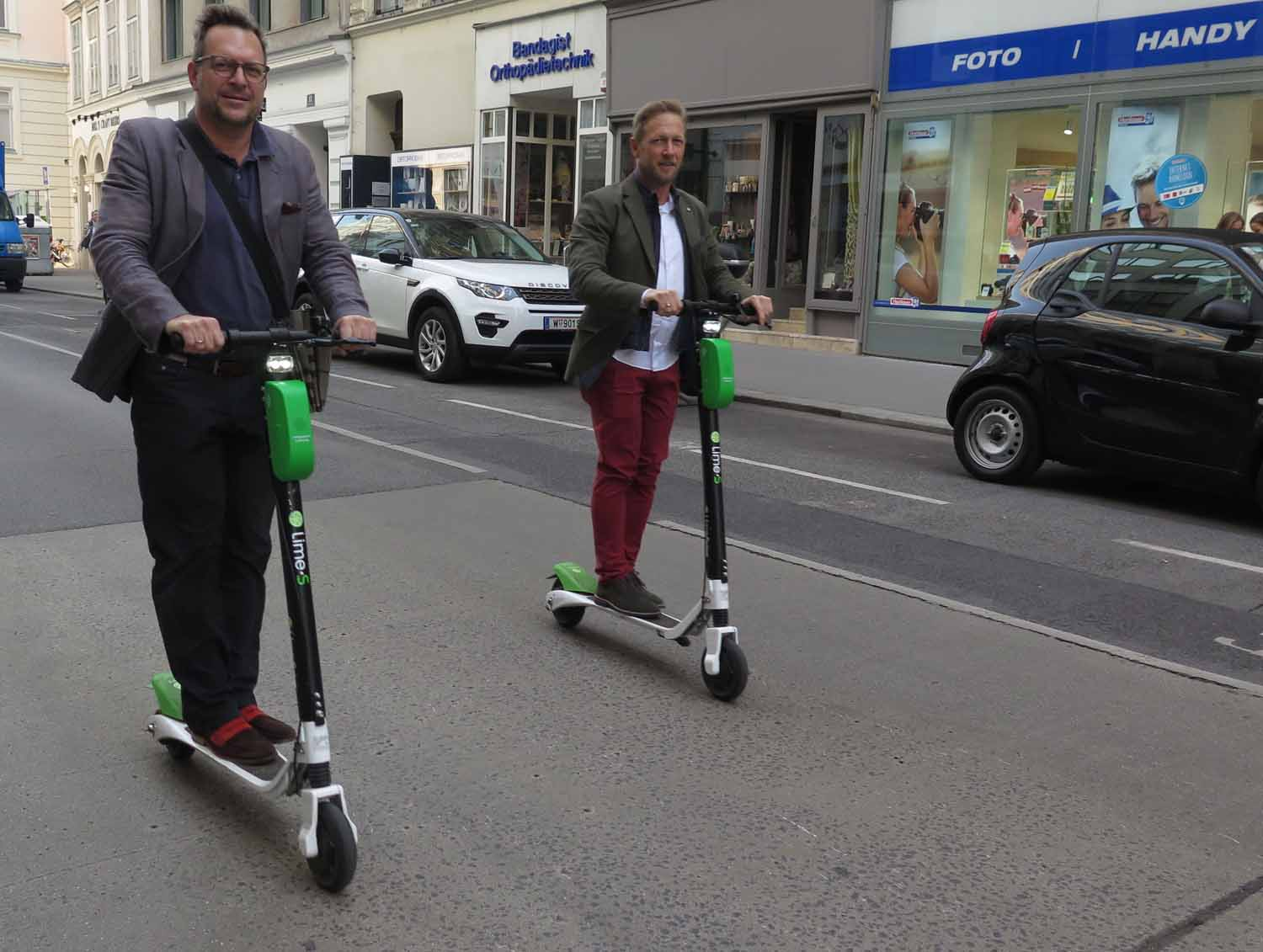Austria-Vienna-Electric-Scooters