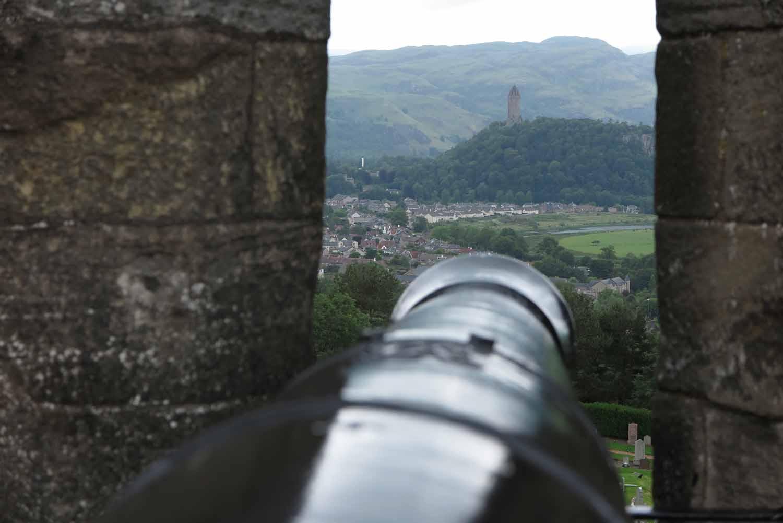 Scotland-Lowlands-Stirling-Castle-Cannon