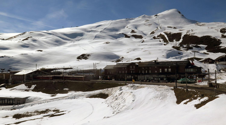 Switzerland-Bernese-Oberland-Kleine-Scheidegg