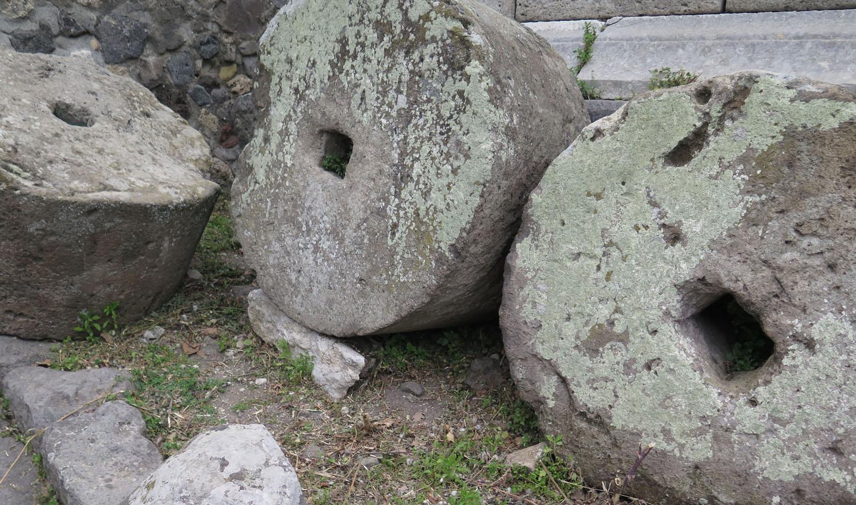 Italy-Pompeii-Grinding-Wheels