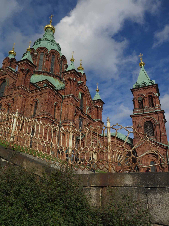 Finland-Helsinki-Uspenski-Cathedral
