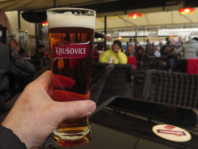 Czech-Republic-Prague-Food-And-Drink-Krusovice