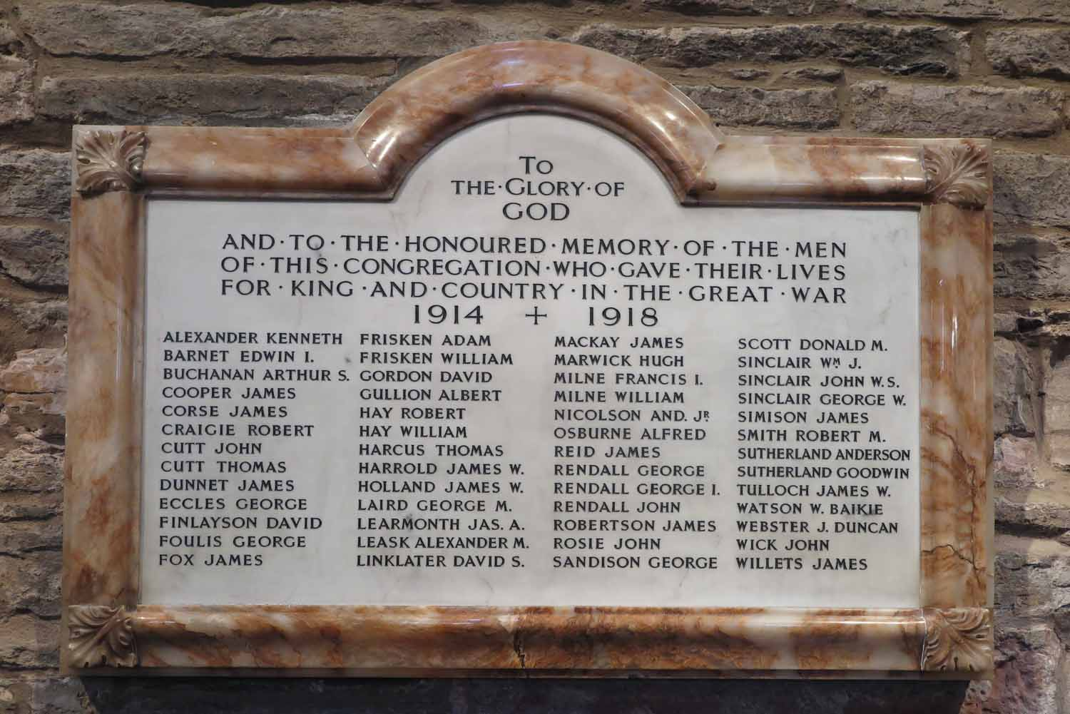 Scotland-Orkney-Kirkwall-War-Memorial