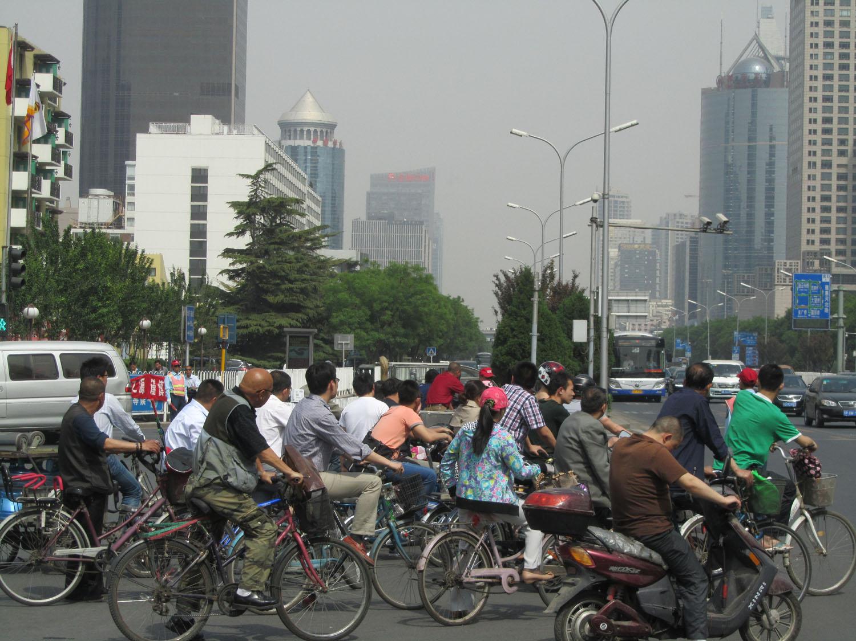 China-Beijing-Street-Scenes-Bicycles