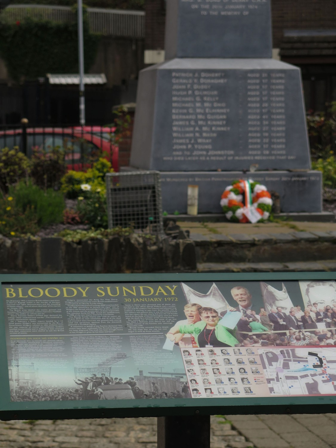 Northern-Ireland-Derry-Londonderry-Bloody-Sunday-Monument