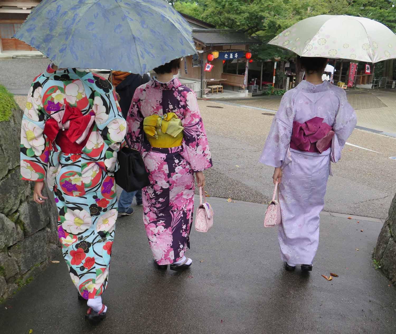 Japan-Tokyo-Kimonos