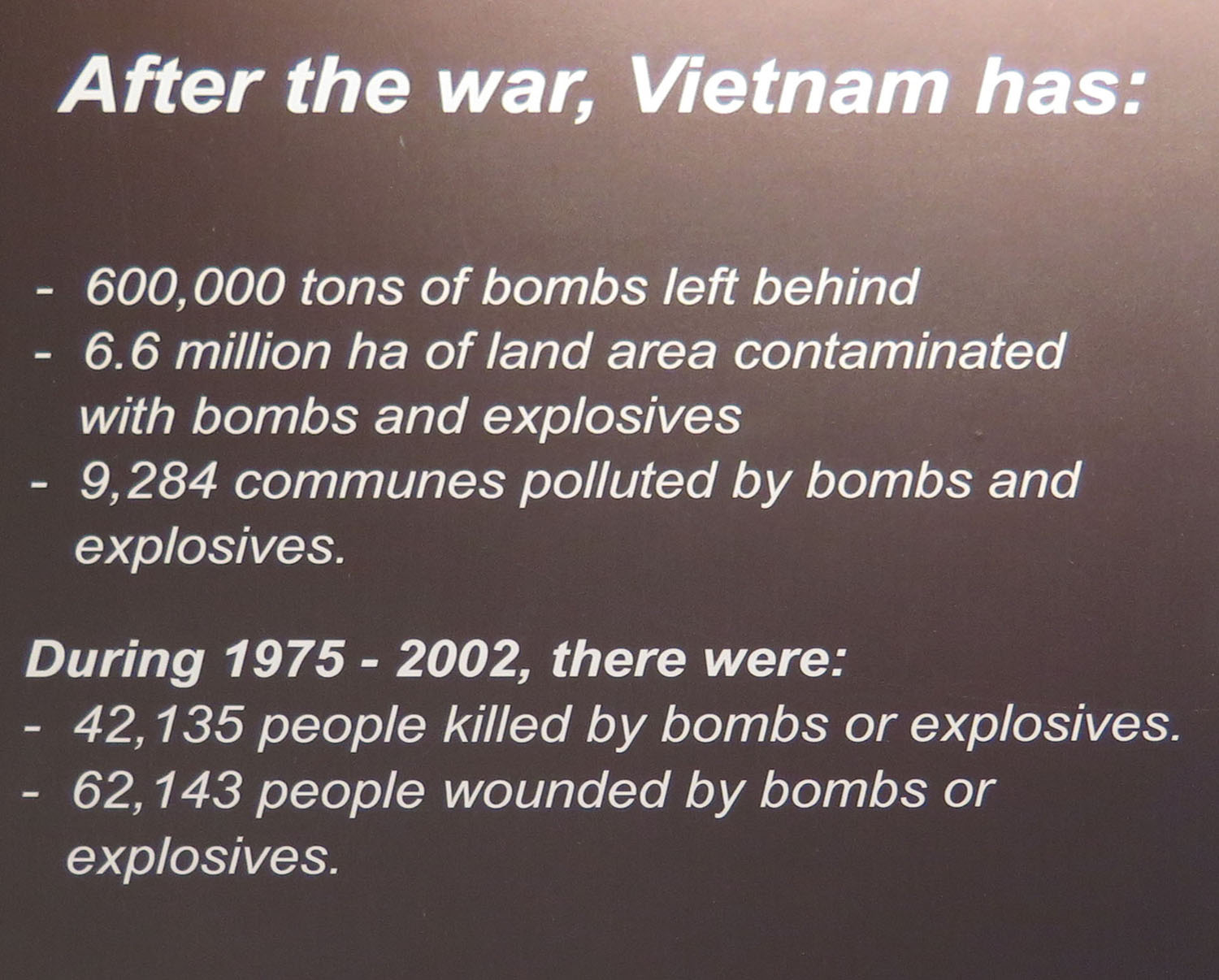 Vietnam-Ho-Chi-Minh-City-War-Remnants-Museum-Unexploded-Ordnance-Legacy