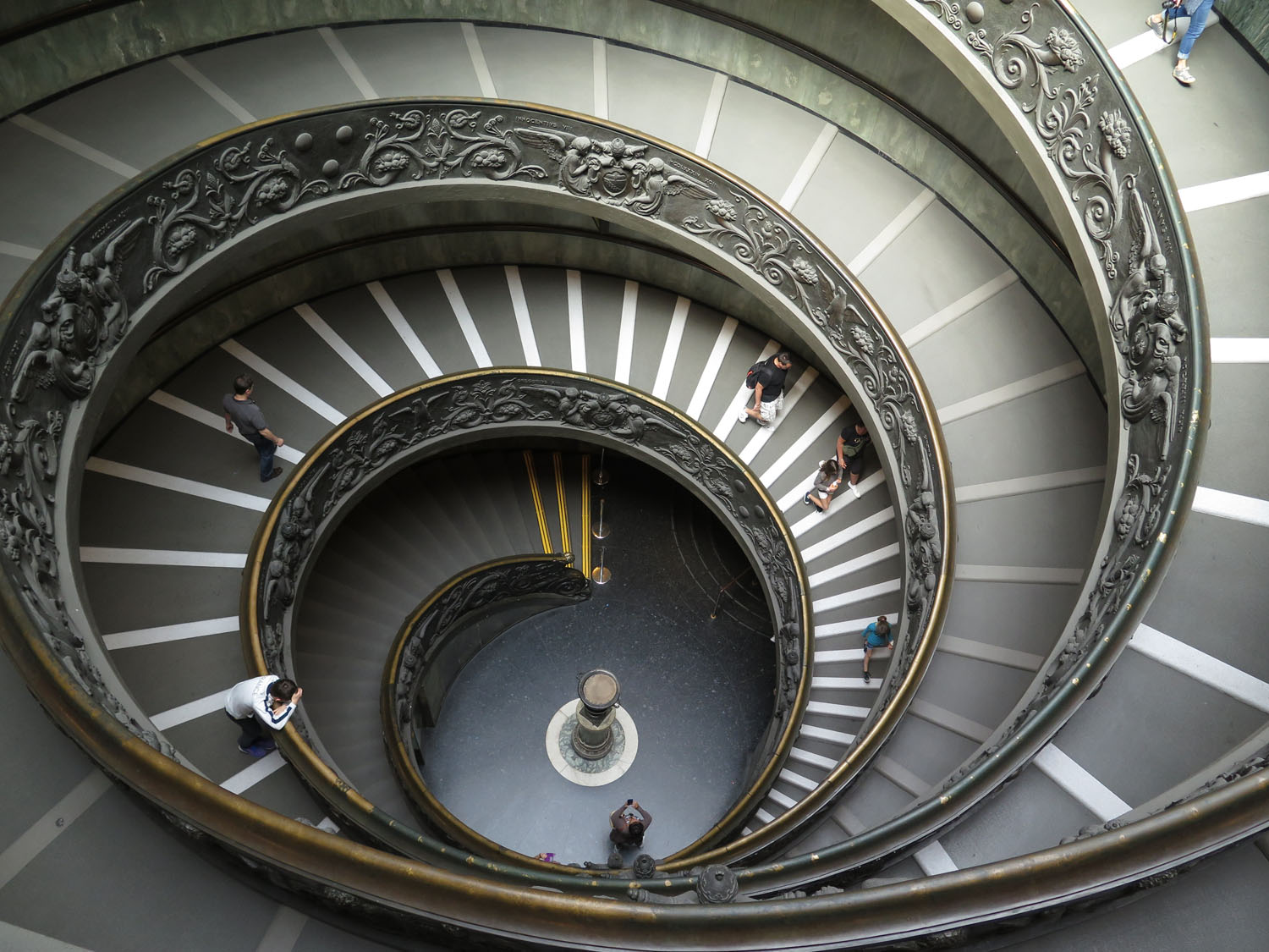 Italy-Rome-Vatican-Museum-Spiral