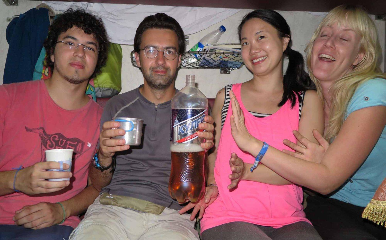Russia-Trans-Siberian-Railway-Mongolian-Leg-Undrinkable-Beer