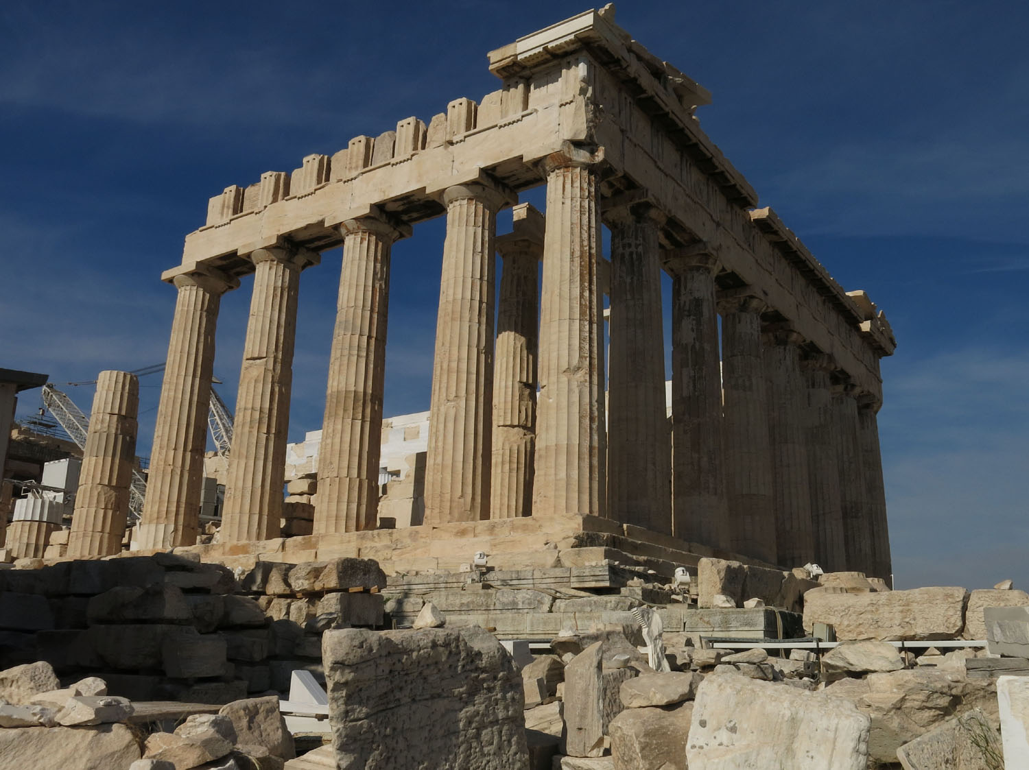 Greece-Athens-Acropolis-Parthenon