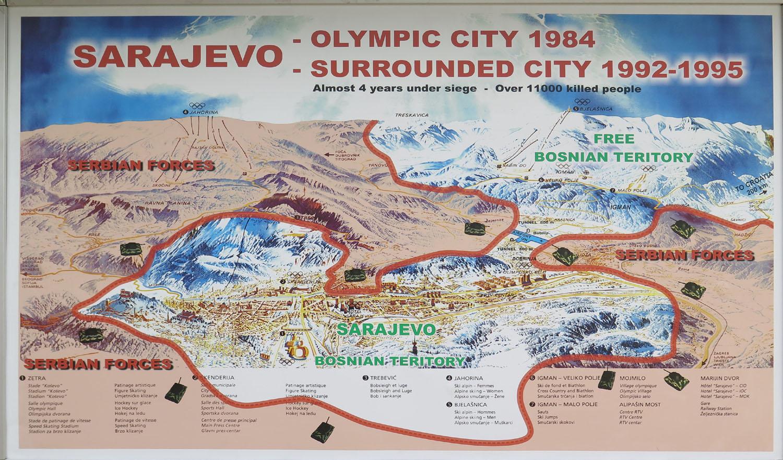 Bosnia-Sarajevo-Siege-Map
