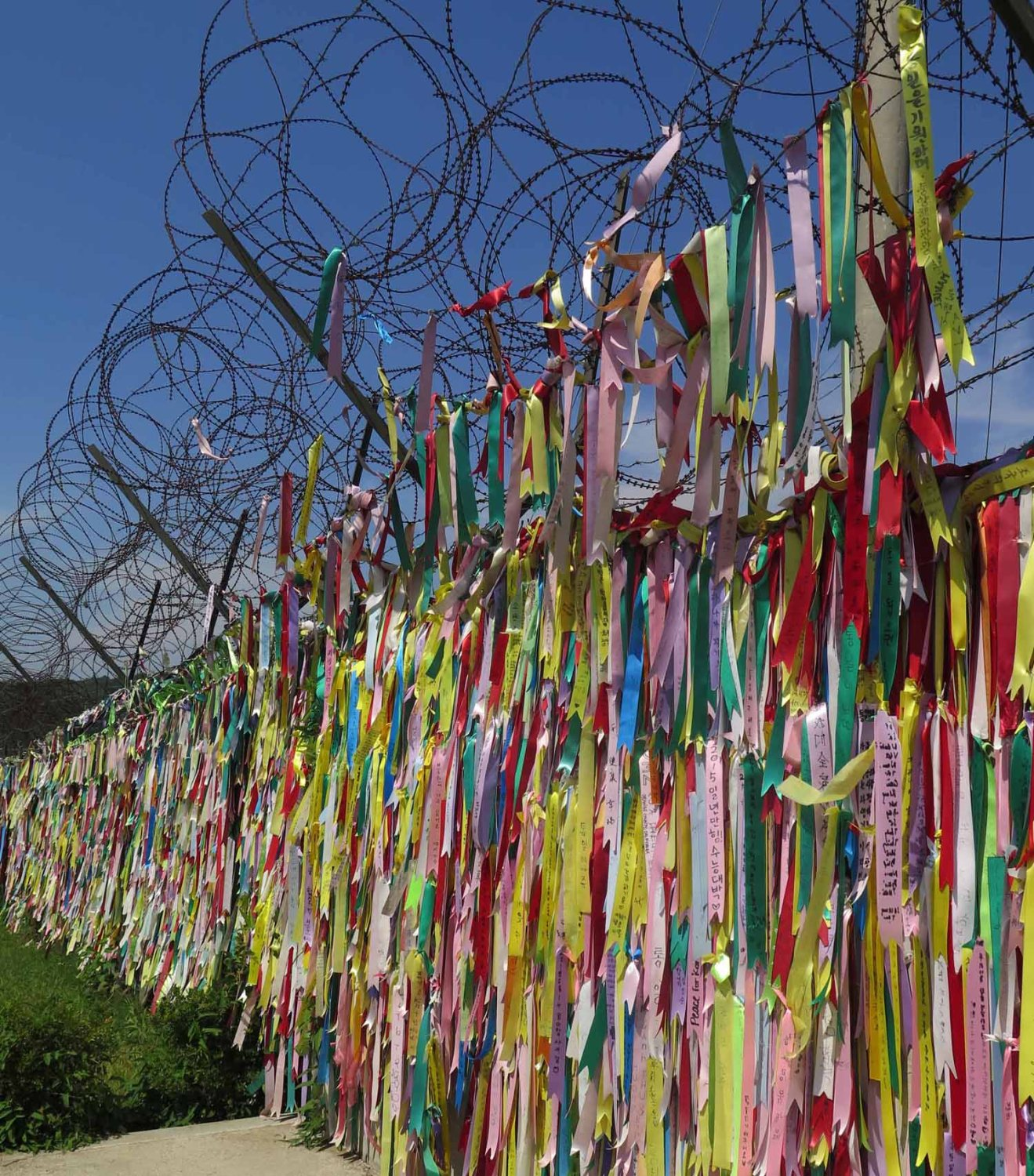 Korea-DMZ-Imjingak-Messages-To-North