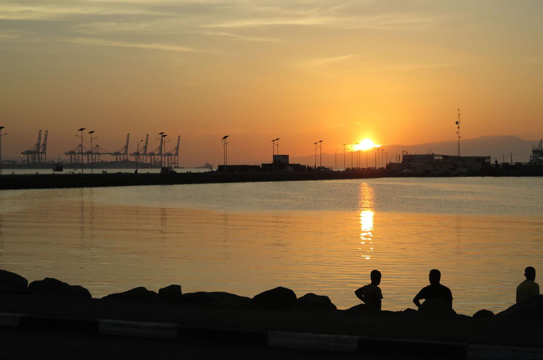 Djibouti-City-Sunset