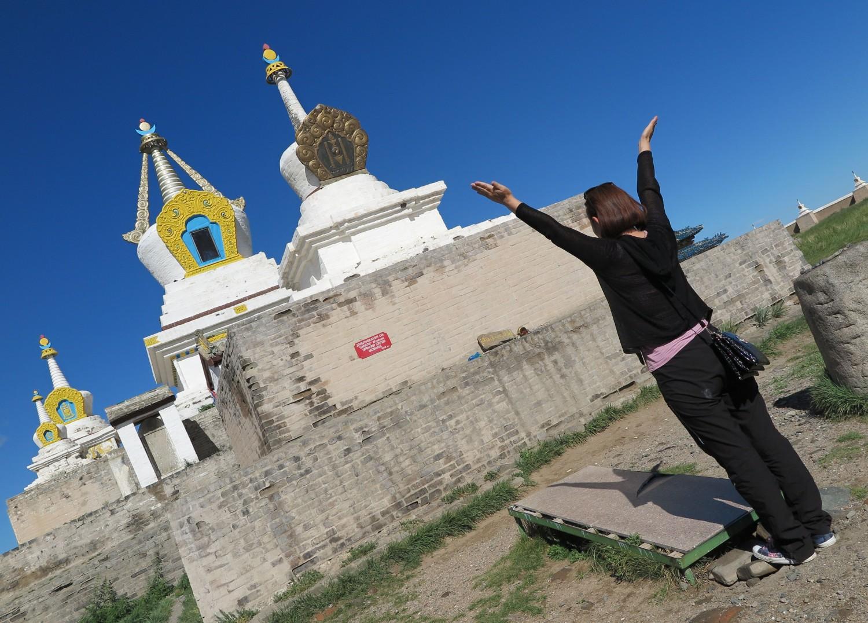 Mongolia-Karakorum-Buddhist-Monastery-Stupa