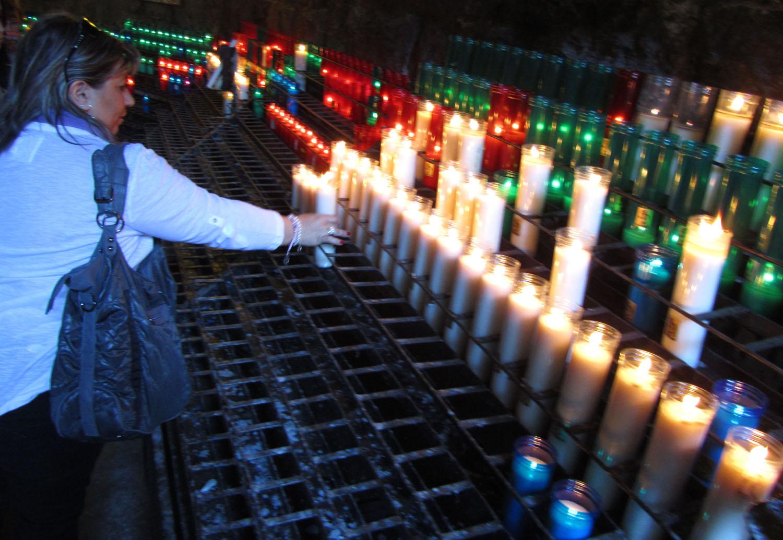 Spain-Montserrat-Candles