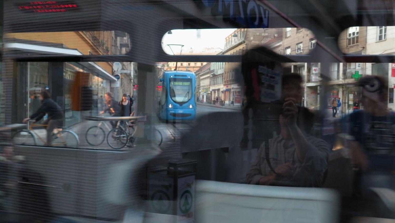 Croatia-Zagreb-Street-Scenes-Tram